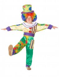 Clowndräkt till kalaset för barn