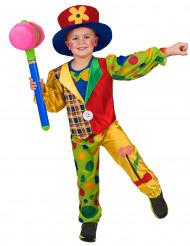 Clowndräkt för barn till kalaset
