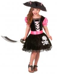 Tjejig piratdräkt