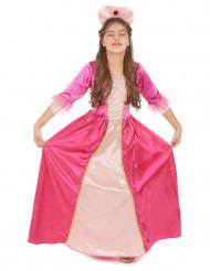 Rosa Rosen - Prinsessdräkt för barn