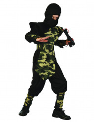 Militär ninja - Maskeraddräkt för barn