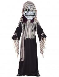 Skelettdräkt för barn till Halloween