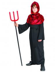 Demondräkt för barn till Halloween