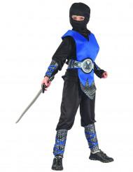 Fräcka blå - Ninjadräkt för barn