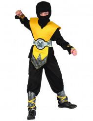 Fräck och gul - Ninjadräkt för barn