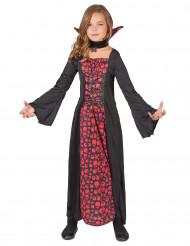 Lång vampyrklänning - Halloweenkläder för barn