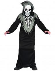 Skördeman skelettdräkt barn