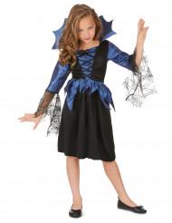 Spindeldrottningsdräkt barn till Halloween