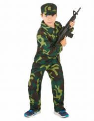Militärdräkt för barn till maskeraden