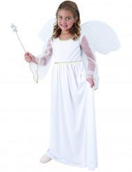 Ängladräkt som har vingar - Dräkt för barn till jul