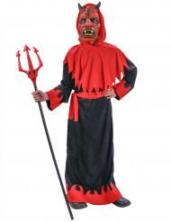 Dyster djävulsdräkt för barn till Halloween