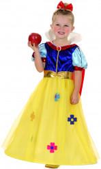 Vit som snö - Prinsessdräkt för barn
