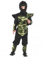 Ichimonji militärninja - Maskeraddräkt för barn