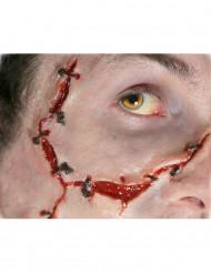 Sår med suturer anbringas med vatten - Premium