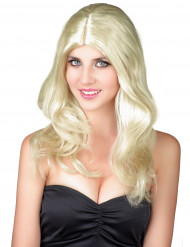 Party Pia - Blond peruk för vuxna