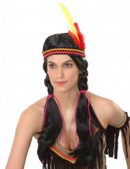 Indianperuk i dam-modell