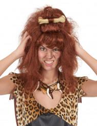 Brun grottkvinneperuk