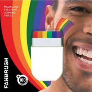 Regnbågsfärgat Smink