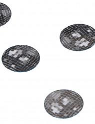 150 bordskonfetti discokulor