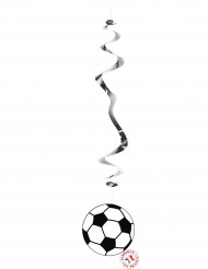6 hängande mobiler med footbollstema