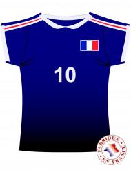 Väggdekoration i form av T-tröja för Frankrike