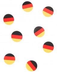 150 bordsonfetti med den tyska flaggan