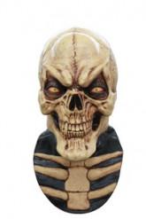 Leende Skelett Heltäckande Mask Vuxen