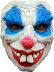 Djävulsk Clown Halvmask Vuxen