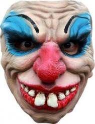 Ryslig Clown Halvmask Vuxen