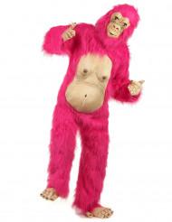 Rosa gorilladräkt vuxen