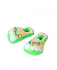 Uppblåsbara Gröna Flip-flops Vuxen