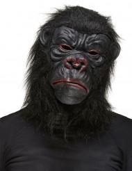 Svart Gorillamask Vuxen