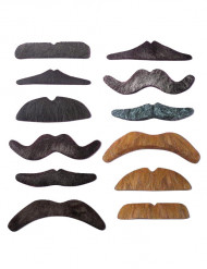 12 Mustacher-set