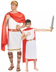 Röda romare pardräkt far & son