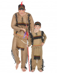 Indianer pardräkt far & son