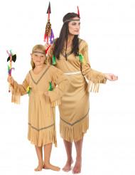 Indianer pardräkt mor & dotter