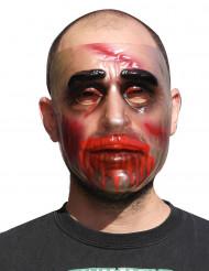 Blodig aptit - Genomskinlig mask till Halloween