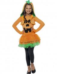 Pumpadräkt med tyllkjol till Halloween för barn