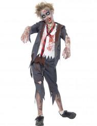 Zombiedräkt skolpojkar