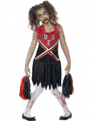Zombie cheerleader dräkt barn