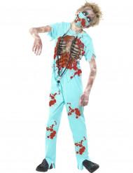 Doktor Zombie Maskeraddräkt Barn Halloween
