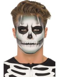Självlysande Skelettsmink-set Halloween Vuxen