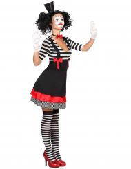 Mimartist i tjusig klänning - Maskeradkläder för vuxna