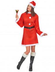 Söt tomtemorsdräkt - Juldräkt för vuxna