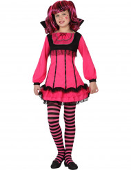 Rosa vampyrprinsessa - Halloweenkostym för barn