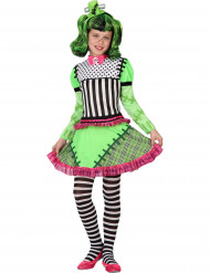 Grön monsterdräkt för Halloween