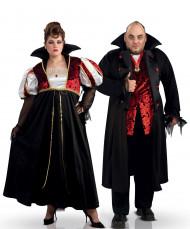 Nattens kung och drottning - Pardräkt till Halloween