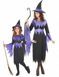 Stor & liten häxa - Halloween utklädnad för par