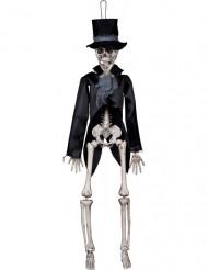 Skelettbrudgum dekoration goth Halloween