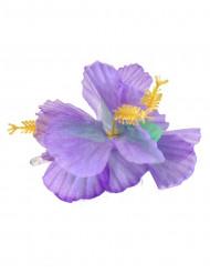 Hårspänne med lila blomma Hawaii
